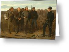 Prisoners From The Front Greeting Card