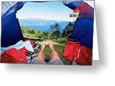 Camping Furniture Greeting Card