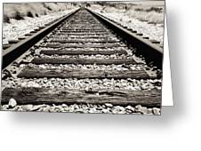 Railway Tracks  Greeting Card