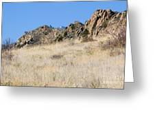 Red Rock Canyon Open Space Park Greeting Card