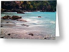 Rocky Seashore Greeting Card