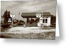 Route 66 Sinclair Station Greeting Card