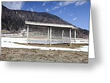 Slovenian Alps Greeting Card