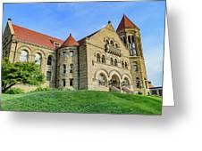 Stewart Hall At West Virginia University Greeting Card