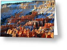 Sunset Point In Bryce Canyon Greeting Card by Pierre Leclerc Photography