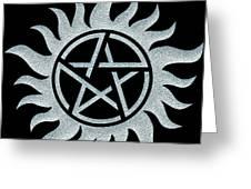 Supernatural Ice Greeting Card