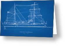 U.s. Coast Guard Cutter Northland Greeting Card