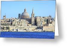 Valletta - Malta Greeting Card