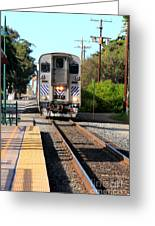 Ventura Train Station Greeting Card