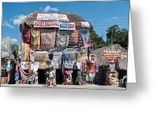 Village Of Coba Greeting Card