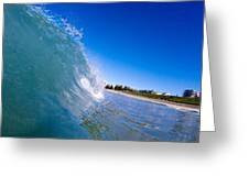 Wave Photo  Greeting Card