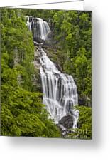 Whitewater Falls Greeting Card