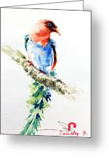 Wild Bird 5 Greeting Card