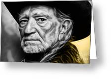 Willie Nelson Collection Greeting Card