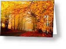 Landscape Artwork Greeting Card