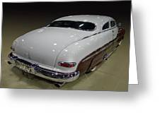 50 Merc Sled Greeting Card