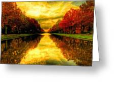 Painters Landscape Greeting Card