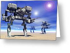 501st Mech Trinary Greeting Card