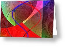 504 - Patterns  2017 Greeting Card