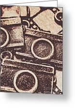 50s Brownie Cameras Greeting Card