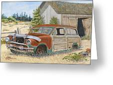 '51 Country Squire Greeting Card