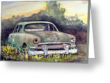 51 Ford Greeting Card