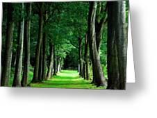 Landscape Definition Greeting Card