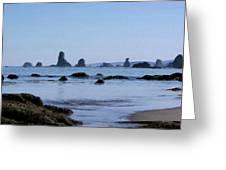 Color Landscape Greeting Card