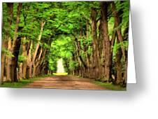 Landscape Native Greeting Card