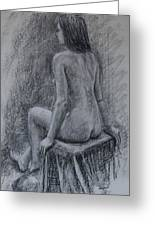 Nude Study Greeting Card