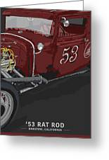 '53 Rat Rod Greeting Card