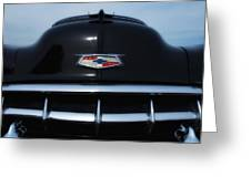 54 Chevy Grill Greeting Card