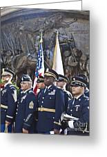 54th Regiment Bos2015_183 Greeting Card