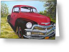 55 Chevy Truck Greeting Card