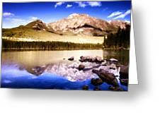 K Landscape Greeting Card