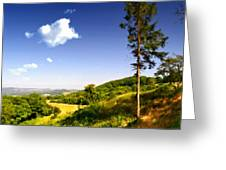 Paint Landscapes Greeting Card