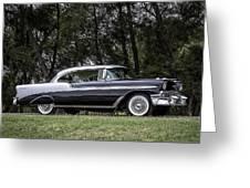 56 Chevy Bel Air Greeting Card