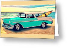 56 Nomad By The Sea In The Morning With Vivachas Greeting Card