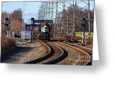 5664 Norfolk Southern Engine Greeting Card