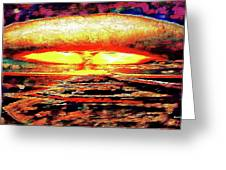 57 Megatons Greeting Card