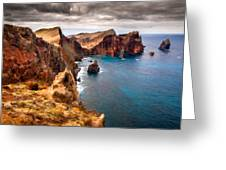 Oil Painting Landscapes Greeting Card