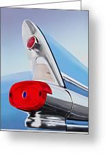 57 Pontiac Tail Fin Greeting Card