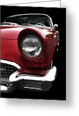57 T-bird Greeting Card
