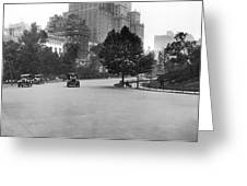 59th Street By Central Park Greeting Card