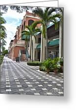 5th Avenue South Naples Florida Greeting Card