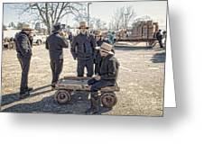Amish Life Greeting Card