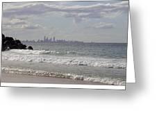 Australia - Coolangatta Beach Greeting Card