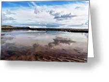 Back Beach - Lyme Regis Greeting Card