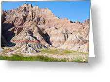 Badlands National Park South Dakota Greeting Card