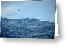 Beautiful Landscapes Around Ketchikan And Tongass Forest In Alas Greeting Card